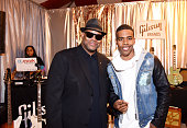 Songwriter Jimmy Jam and singer Mario attend the GRAMMY gift lounge during The 57th Annual GRAMMY Awards at the Staples Center on February 5 2015 in...