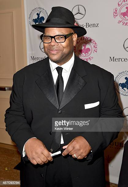 Songwriter Jimmy Jam attends the 2014 Carousel of Hope Ball presented by MercedesBenz at The Beverly Hilton Hotel on October 11 2014 in Beverly Hills...