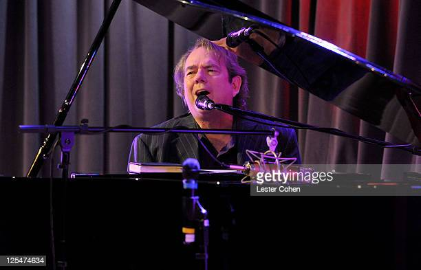 Songwriter Jimmy Webb performs at 'An Evening with Jimmy Webb' at the Clive Davis Theater at The GRAMMY Museum on October 20 2010 in Los Angeles...