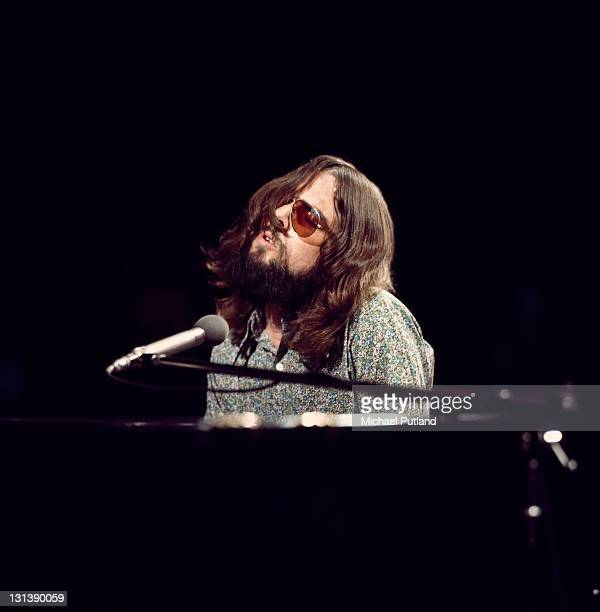 Songwriter Jimmy Webb performs on BBC TV show Old Grey Whistle Test London 28th June 1971
