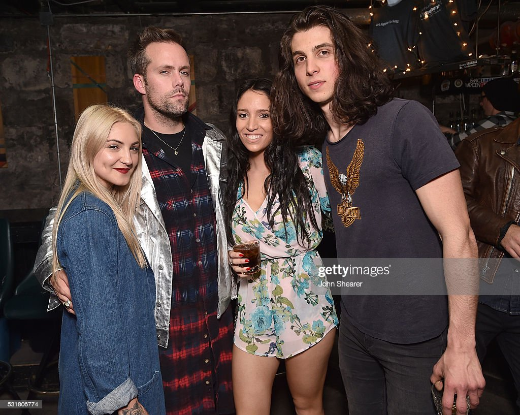 justin tranter 2016. songwriter julia michaels, musician from semi precious weapons, justin tranter, guest and singer tranter 2016 h