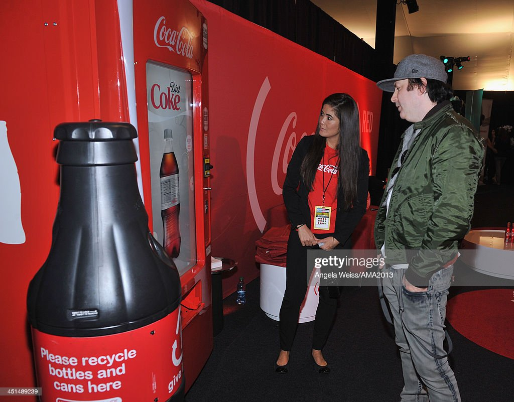 Songwriter Kevin Rudolf attends day 1 of the 2013 American Music Awards gift lounge at Nokia Theatre LA Live on November 22 2013 in Los Angeles...