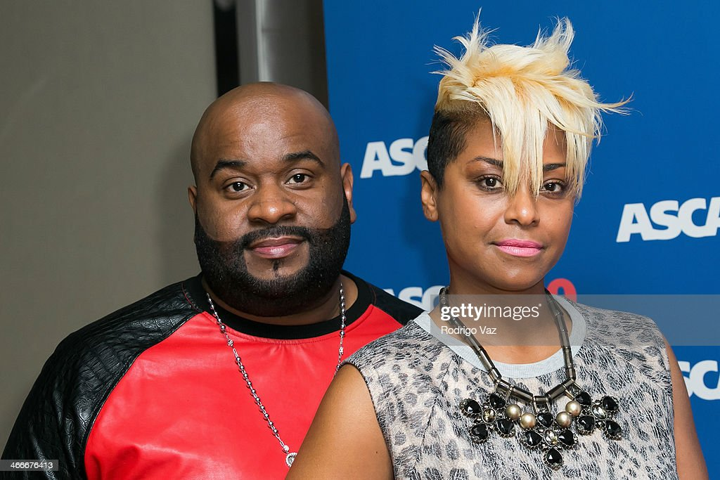 Songwriter Lashawn Daniels (L) and April Daniels attend ASCAP's 2014 Grammy Nominee Brunch at SLS Hotel on January 25, 2014 in Beverly Hills, California.