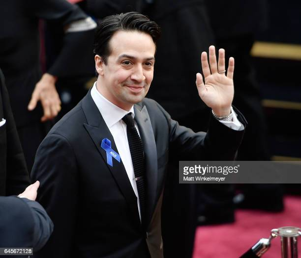 Songwriter LinManuel Miranda attends the 89th Annual Academy Awards at Hollywood Highland Center on February 26 2017 in Hollywood California