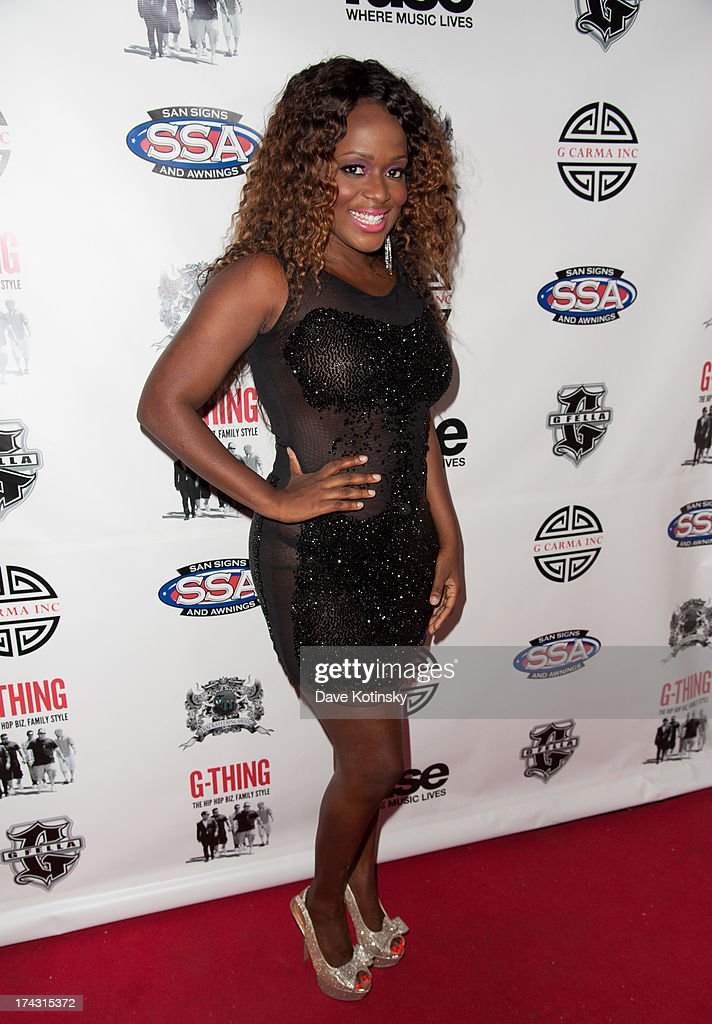 Songwriter Melky Jean attends the 'G-Thing' Series Premiere Party at The Griffin on July 23, 2013 in New York City.