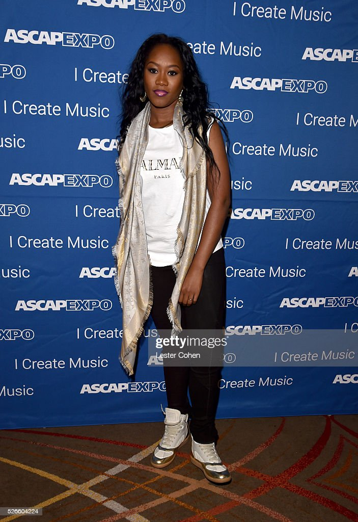 Songwriter Priscilla Renea attends the 2016 ASCAP 'I Create Music' EXPO on April 30, 2016 in Los Angeles, California.