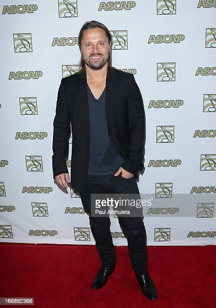 Songwriter / Producer Max Martin attends the 30th annual ASCAP Pop Music awards show at Hollywood Highland Center on April 17 2013 in Hollywood...