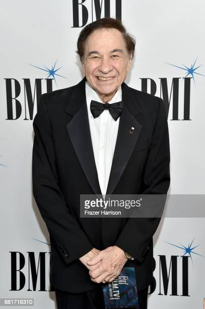 Songwriter Richard M Sherman at the 2017 Broadcast Music Inc Film TV Visual Media Awards at the Beverly Wilshire Hotel on May 10 2017 in Beverly...