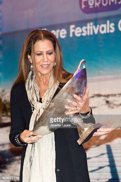 Songwriter Rita Coolidge attends FestForums at The Fess Parker A Doubletree by Hilton Resort on November 21 2016 in Santa Barbara California