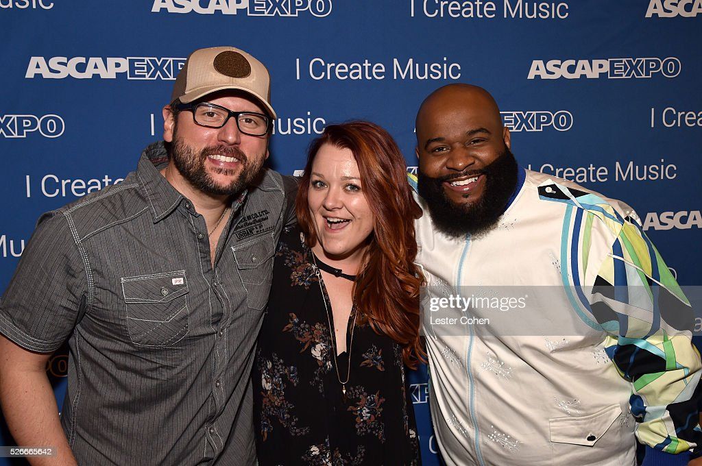 Songwriters Chris DeStefano, Audra Mae and LaShawn Daniels attend the 2016 ASCAP 'I Create Music' EXPO on April 30, 2016 in Los Angeles, California.