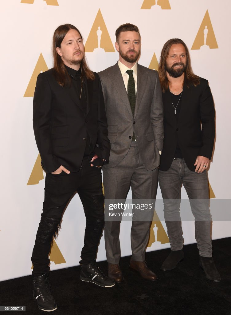 songwriters-shellback-justin-timberlake-and-max-martin-attend-the-picture-id634059714