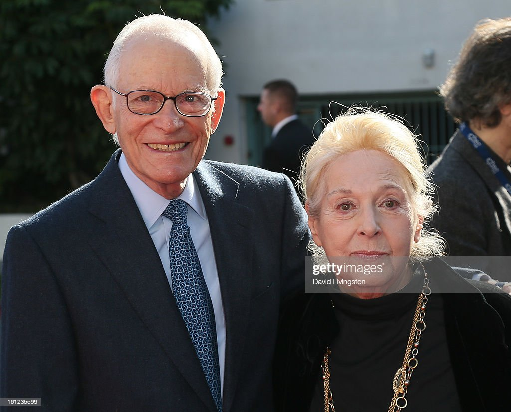 Songwriters/husband and wife Alan Bergman (L) and <a gi-track='captionPersonalityLinkClicked' href=/galleries/search?phrase=Marilyn+Bergman&family=editorial&specificpeople=241254 ng-click='$event.stopPropagation()'>Marilyn Bergman</a> attend The Recording Academy Special Merit Awards Ceremony at the Wilshire Ebell Theatre on February 9, 2013 in Los Angeles, California.
