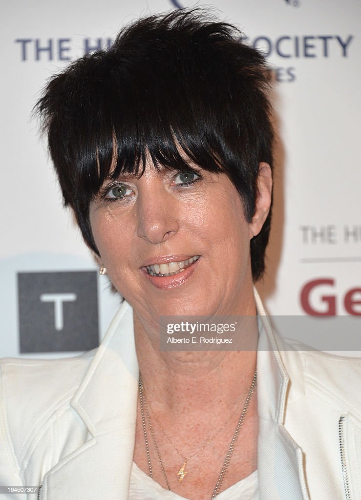 Songwwriter Diane Warren arrives to the 2013 Genesis Awards Benefit Gala at The Beverly Hilton Hotel on March 23, 2013 in Beverly Hills, California.
