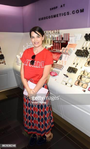 Sonia Amoruso attends Louise Roe For Kiko Milano At Kiko Milano Hollywood Venue on October 14 2017 in Hollywood California