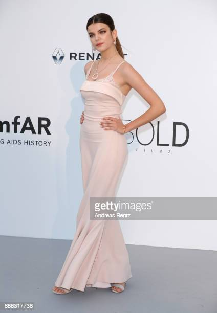 Sonia Ben Ammar arrives at the amfAR Gala Cannes 2017 at Hotel du CapEdenRoc on May 25 2017 in Cap d'Antibes France