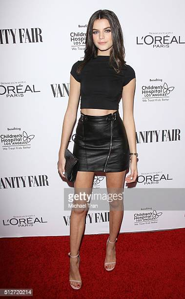 Sonia Ben Ammar arrives at the Vanity Fair preOscar party held at Palihouse Holloway on February 26 2016 in West Hollywood California