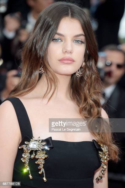Sonia Ben Ammar attends the 'The Beguiled' screening during the 70th annual Cannes Film Festival at Palais des Festivals on May 24 2017 in Cannes...