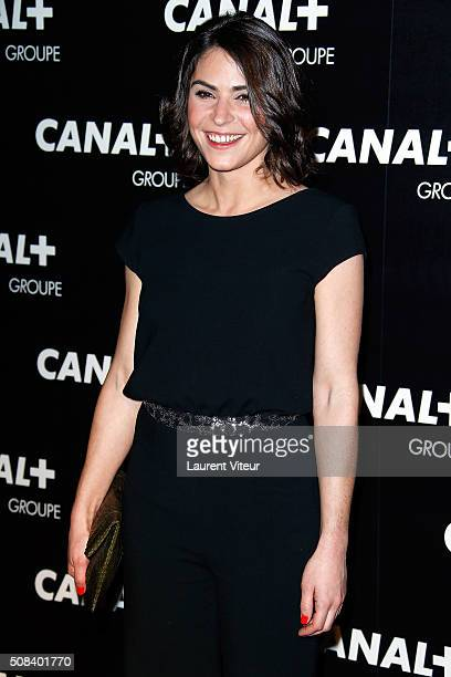 Sonia Chironi attends the 'Canal Animators' Party At Manko on February 3 2016 in Paris France