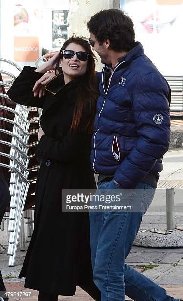 Sonia Ferrer and Alvaro Munoz Escassi are seen on February 27 2014 in Madrid Spain