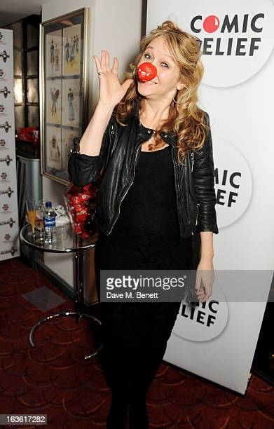 Sonia Friedman attends a gala performance of 'The Book Of Mormon' in aid of Red Nose Day at the Prince Of Wales Theatre on March 13 2013 in London...