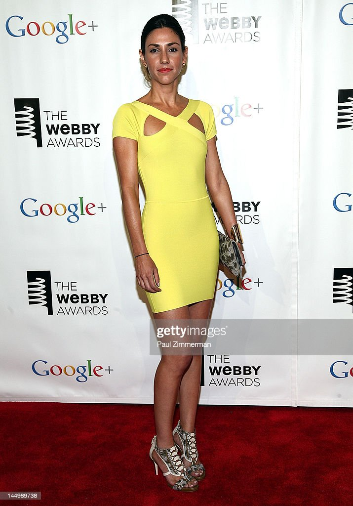 Sonia Gil attends the 16th Annual Webby Awards at Hammerstein Ballroom on May 21, 2012 in New York City.