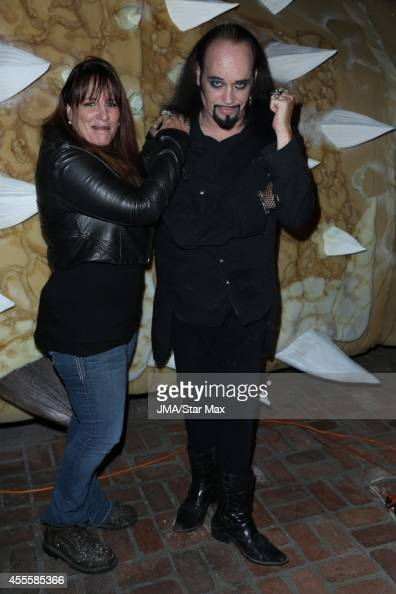 Sonia Hall and Cleve Hall is seen on September 16 2014 in Los Angeles California