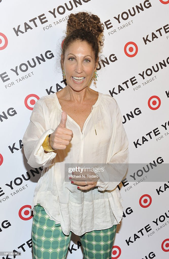 Sonia Kashuk attends the Kate Young For Target Launch at The Old School NYC on April 9, 2013 in New York City.