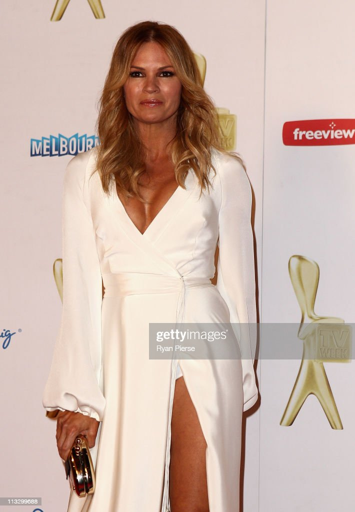 <a gi-track='captionPersonalityLinkClicked' href=/galleries/search?phrase=Sonia+Kruger&family=editorial&specificpeople=215269 ng-click='$event.stopPropagation()'>Sonia Kruger</a> arrives on the red carpet ahead of the 2011 Logie Awards at Crown Palladium on May 1, 2011 in Melbourne, Australia.