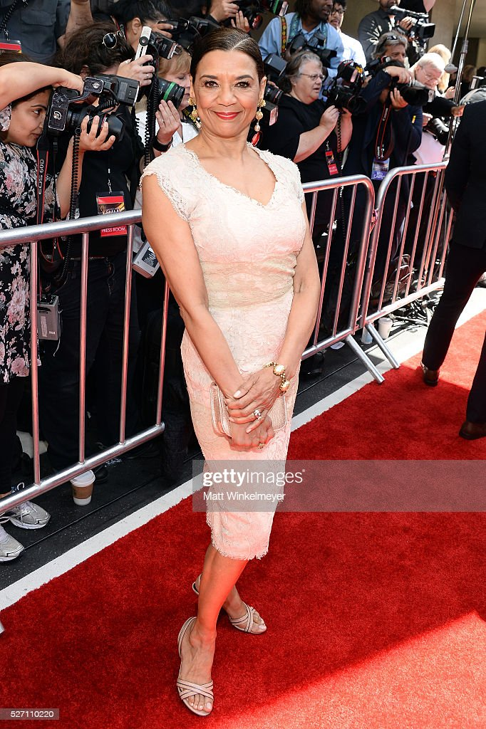 <a gi-track='captionPersonalityLinkClicked' href=/galleries/search?phrase=Sonia+Manzano&family=editorial&specificpeople=2662541 ng-click='$event.stopPropagation()'>Sonia Manzano</a> walks the red carpet at the 43rd Annual Daytime Emmy Awards at the Westin Bonaventure Hotel on May 1, 2016 in Los Angeles, California.