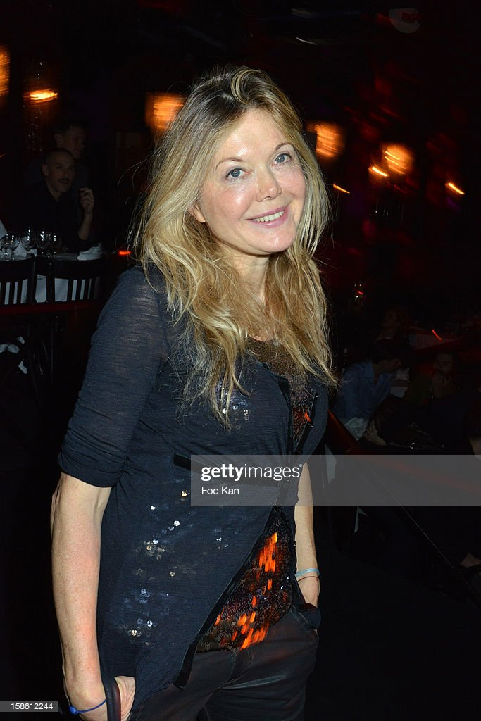 Sonia Poniatowski attends the 'Joyeux Paradis' Party by Emmanuel d'Orazio & Marc Zaffuto at Le Paradis Latin on December 20, 2012 in Paris, France.