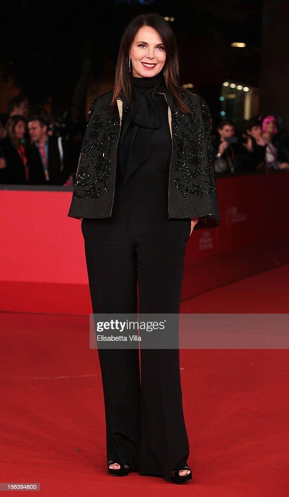 Sonia Raule attends the 'E La Chiamano Estate' Premiere during the 7th Rome Film Festival at the Auditorium Parco Della Musica on November 14, 2012 in Rome, Italy.