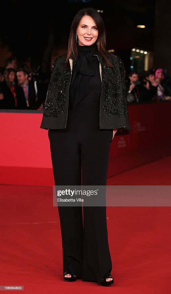 Sonia Raule attends the 'E La Chiamano Estate' Premiere during the 7th Rome Film Festival at the Auditorium Parco Della Musica on November 14, 2012 in Rome, Italy.