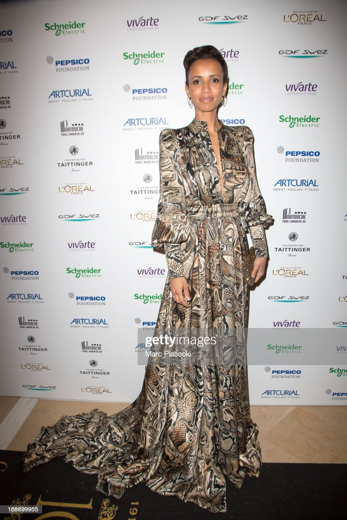 <a gi-track='captionPersonalityLinkClicked' href=/galleries/search?phrase=Sonia+Rolland&family=editorial&specificpeople=224948 ng-click='$event.stopPropagation()'>Sonia Rolland</a> attends the 'Planet Finance' dinner photocall at the 'Carlton' hotel during the 66th annual Cannes Film Festival on May 16, 2013 in Cannes, France.