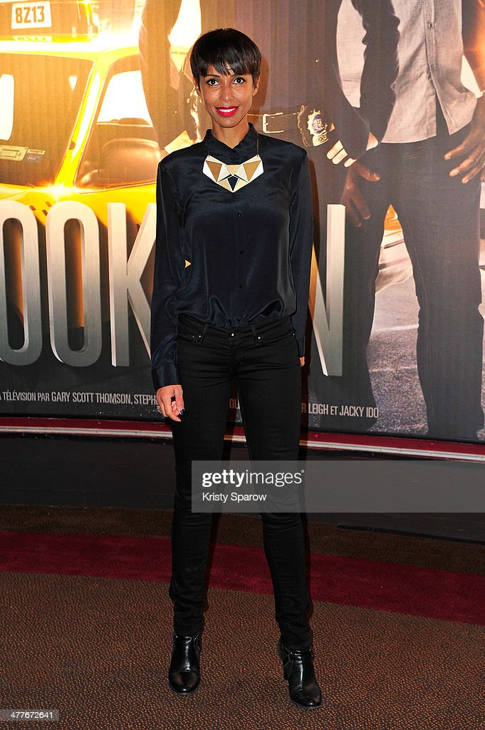 <a gi-track='captionPersonalityLinkClicked' href=/galleries/search?phrase=Sonia+Rolland&family=editorial&specificpeople=224948 ng-click='$event.stopPropagation()'>Sonia Rolland</a> attends the 'Taxi Brooklyn' Paris premiere at Cinema Gaumont Marignan on March 10, 2014 in Paris, France.