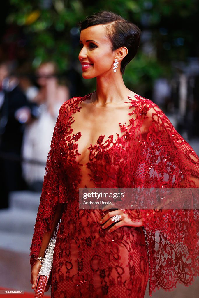 Sonia Rolland attends the 'Timbuktu' premiere during the 67th Annual Cannes Film Festival on May 15, 2014 in Cannes, France.