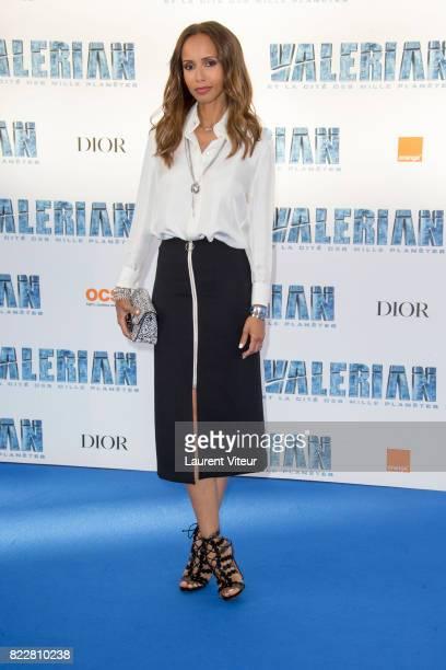 Sonia Rolland attends 'Valerian et la Cite desMille Planetes' Paris Premiere at La Cite Du Cinema on July 25 2017 in SaintDenis France