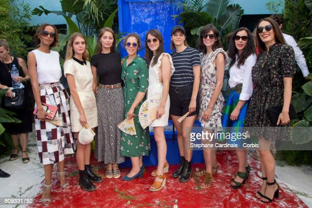 Sonia Rolland Dolores Doll Marie Ange Casta Alysson Paradis Anais Demoustier Celine Sallette Louise Monot Olivia Ruiz and Elisa Tovati attend the...