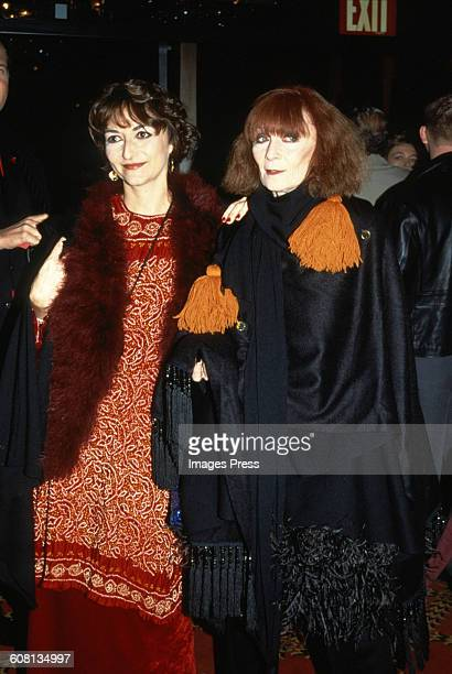Sonia Rykiel attends the Premiere of 'Ready To Wear' circa 1994 in New York City
