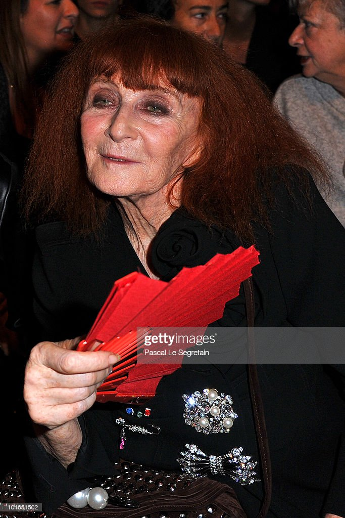 Sonia Rykiel attends the Sonia Rykiel Ready to Wear Spring/Summer 2011 show during Paris Fashion Week on October 2, 2010 in Paris, France.