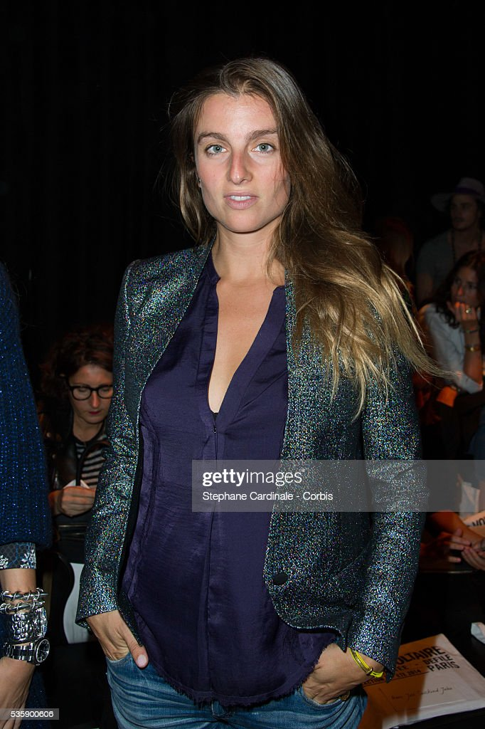 Sonia Sieff attends the Zadig & Voltaire show at 'Palais de Tokyo', as part of the Paris Fashion Week Womenswear Spring/Summer 2014, in Paris.