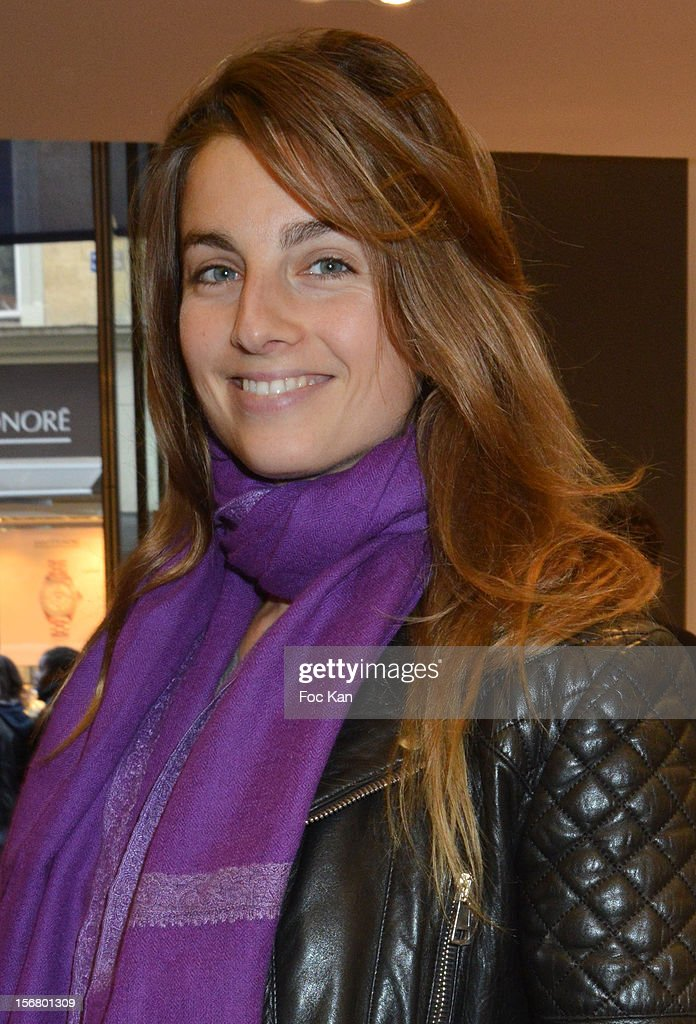 Sonia Sieff seen at Colette on November 21, 2012 in Paris, France.