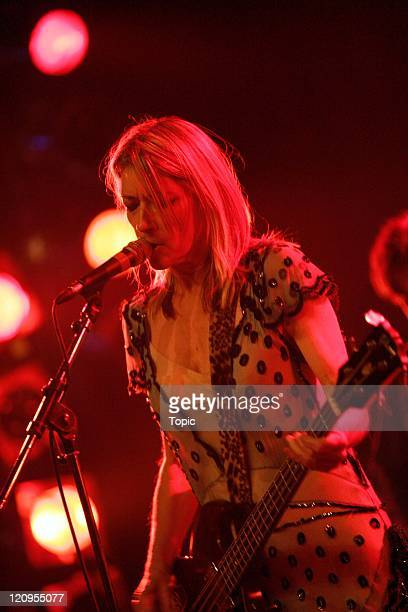 Sonic Youth during Sonic Youth in Concert June 26 2004 at St James in Auckland New Zealand