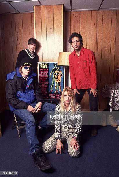 Sonic Youth on 7/15/95 in Chicago Il