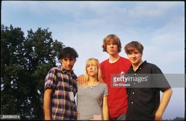 Sonic Youth Thurston Moore Kim Gordon Lee Ranaldo Steve Shelley Pukkelpop Festival Hasselt Belgium