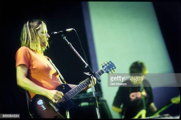 Sonic Youth Thurston Moore Kim Gordon Pukkelpop Festival Hasselt Belgium