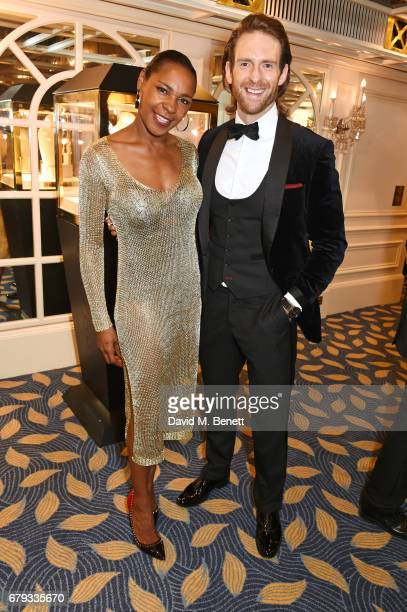 Sonique and Craig McGinlay attend The Asian Awards at Hilton Park Lane on May 5 2017 in London England