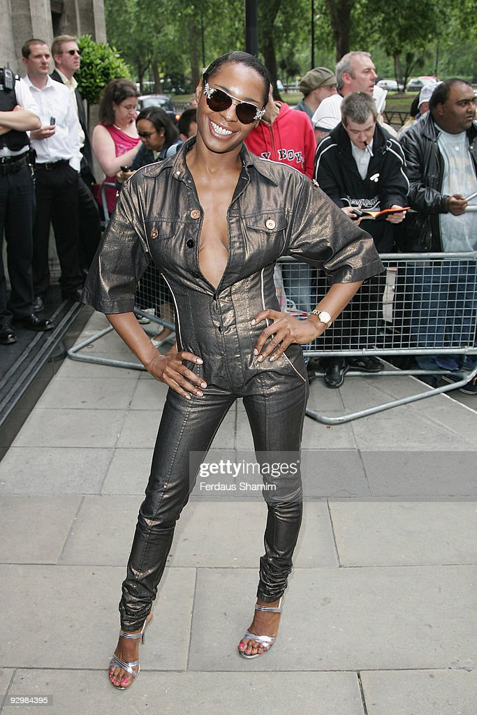 Sonique arrives at the the 53rd Ivor Novello Awards held at the Grosvenor House on May 22 2008 in London England