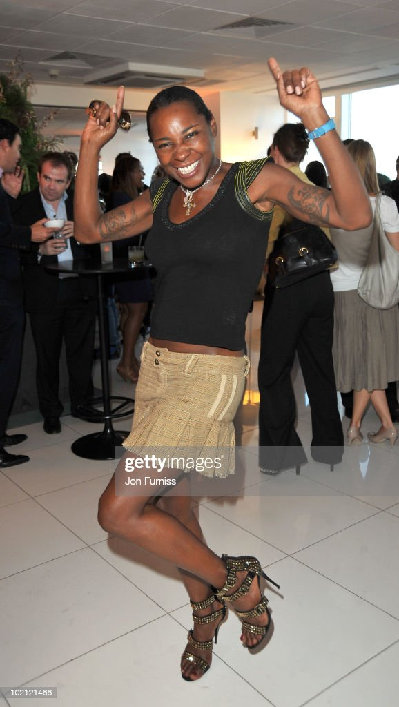Sonique attends the Samsung Galaxy S launch on June 15, 2010 in London, England.