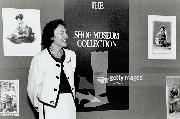 Sonja Bata Her shoe museum collection has about 400 items spanning 4000 years