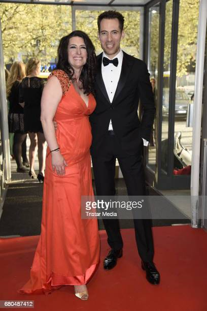 Sonja Fusati and Alexander Mazza attend the Victress Awards Gala 2017 on May 8 2017 in Berlin Germany